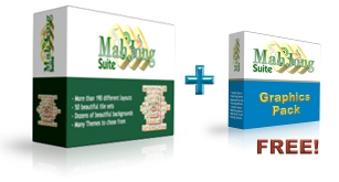 MahJong Suite Graphics Pack's box