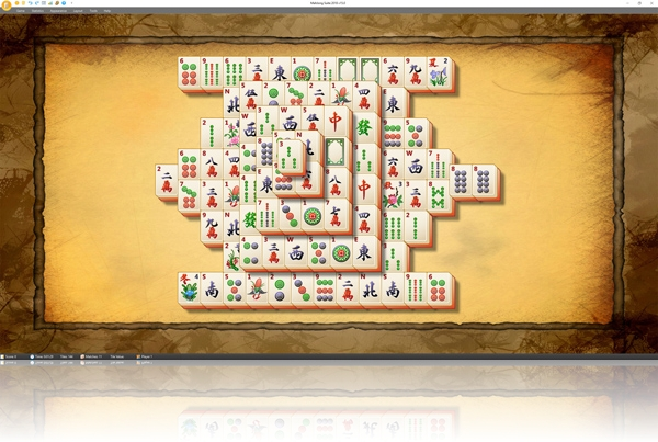 MahJong Suite - Actual layout