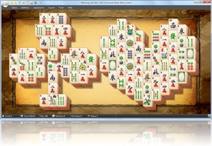 MahJong Suite - Club and Heart screenshot