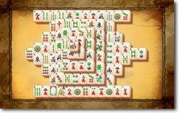 MahJong Suite - Antique Chinese Paper theme
