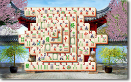 MahJong Suite - Chinese Gate theme