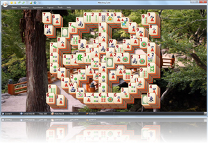 MahJong Suite - Rose Window Screenshot