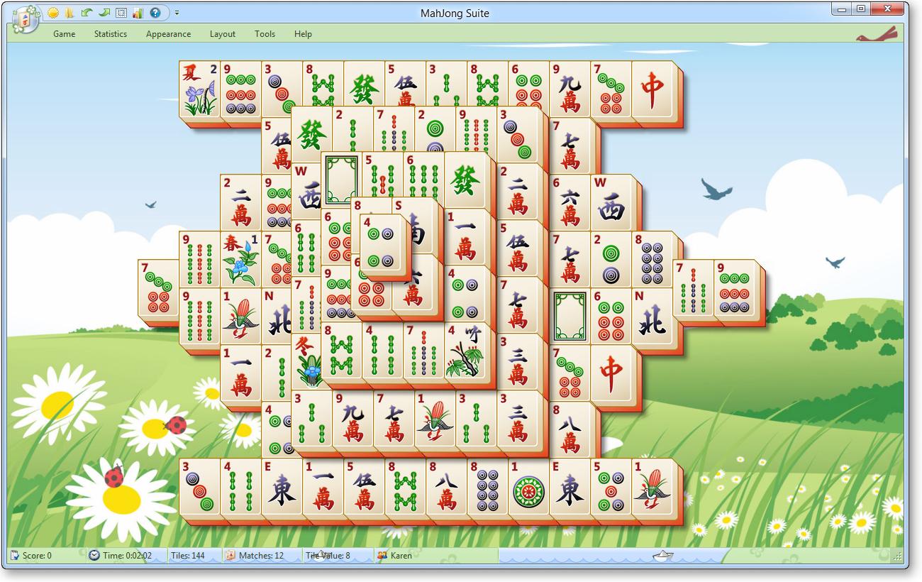 Игра MahJong Suite (2013) скачать бесплатно.