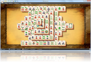 MahJong Suite - Standard Layout Screenshot
